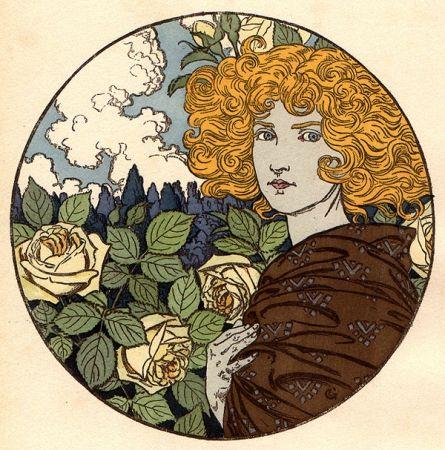 リトグラフ Grasset - Jalousie