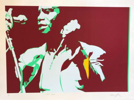 シルクスクリーン Rancillac - James Brown