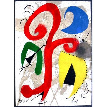 リトグラフ Miró - Jardin au Clair de Lune