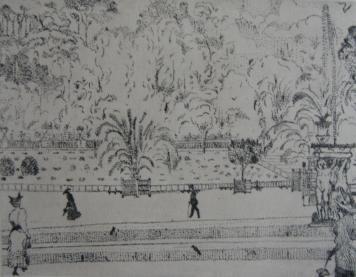彫版 Vrieslander - Jardin du Luxembourg