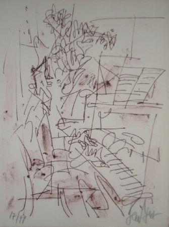 リトグラフ Paul  - Jazz