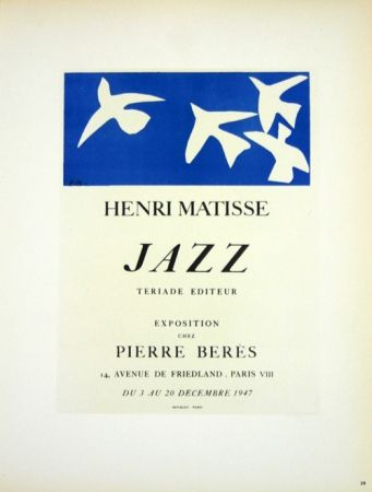 リトグラフ Matisse - Jazz