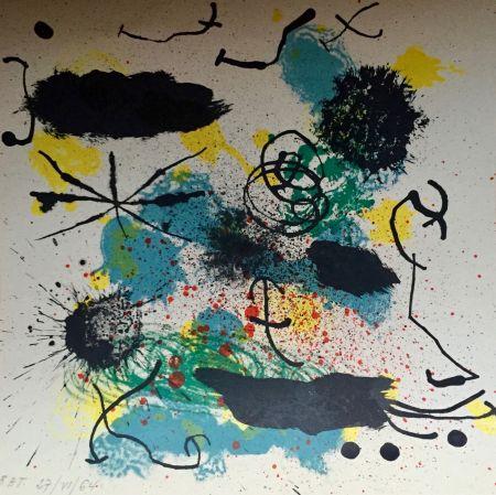 リトグラフ Miró - Je Travaille Comme Un Jardinier