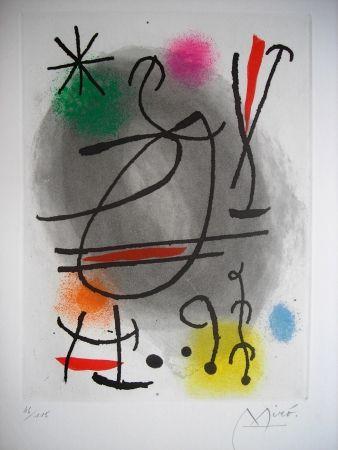 エッチングと アクチアント Miró - Jean Cassou: vingt-deux poèms