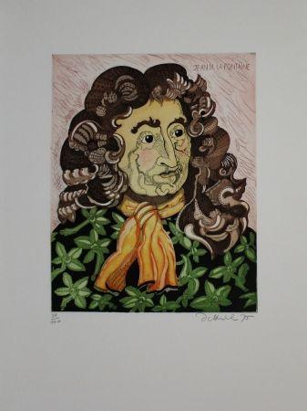 エッチングと アクチアント Dittrich - Jean de la Fontaine