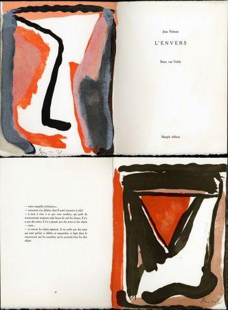挿絵入り本 Van Velde - Jean Frémon. L'ENVERS. Maeght, Paris 1978