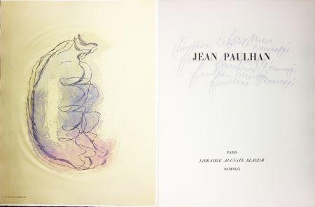 挿絵入り本 Fautrier - Jean Paulhan : FAUTRIER L'ENRAGÉ (1949)