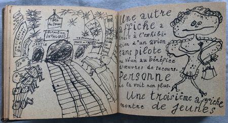 挿絵入り本 Dubuffet - Jean PAULHAN : LA MÉTROMANIE ou les dessous de la capitale. Calligraphié et orné de dessins par son ami Jean Dubuffet.