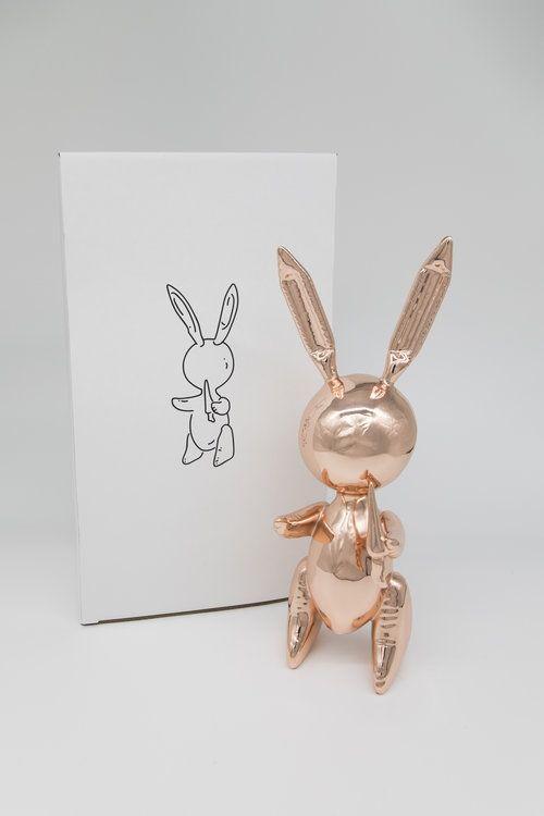 技術的なありません Koons - Jeff Koons (After) - Balloon Rabbit Rose Gold