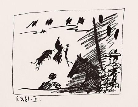 リトグラフ Picasso - Jeu De La Cape