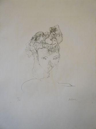 彫版 Bellmer - Jeune-fille
