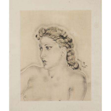 多数の Foujita - Jeune femme blonde ,1931
