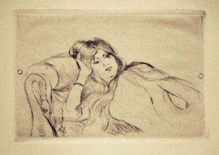 ポイントーセッシュ Morisot - Jeune fille au repos