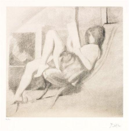 リトグラフ Balthus - Jeune fille lisant