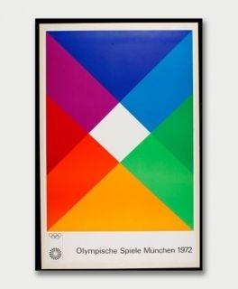 シルクスクリーン Bill - Jeux Olympiques de Munich 1972
