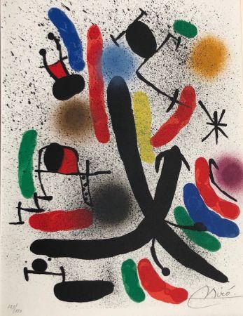 リトグラフ Miró - Joan Miró Litografo I