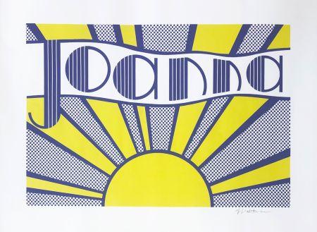リトグラフ Lichtenstein - Joanna (C. III.24)