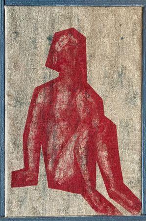 シルクスクリーン Buraglio - Job, avec Cézanne, 2006