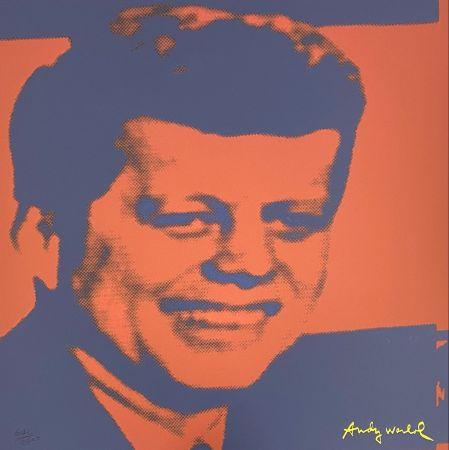オフセット Warhol - John F. Kennedy