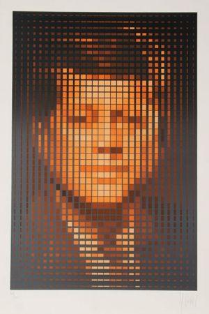 シルクスクリーン Yvaral - John F. Kennedy
