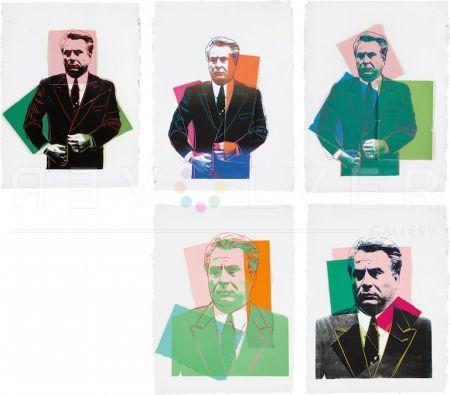 シルクスクリーン Warhol -  John Gotti Complete Portfolio By Andy Warhol