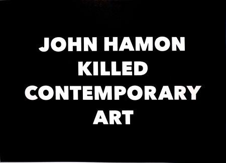 リトグラフ Hamon - JOHN HAMON KILLED CONTEMPORARY ART