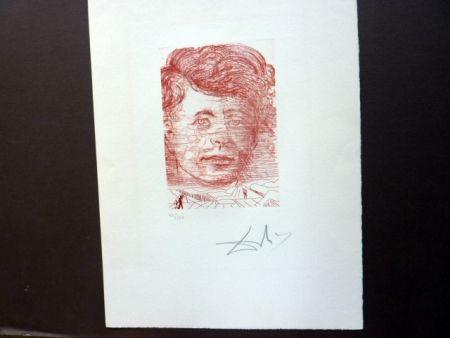 彫版 Dali - John Kennedy (Famous Men Portfolio)