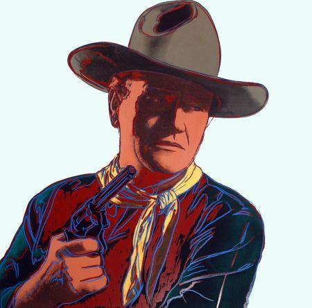 シルクスクリーン Warhol - John Wayne [Unique] (FS II.377)