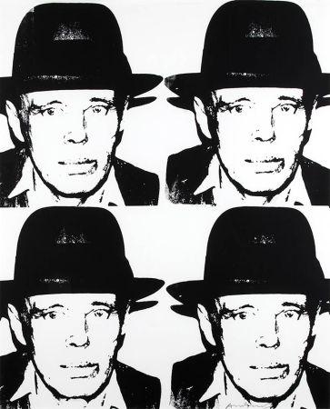 シルクスクリーン Warhol - Joseph Beuys