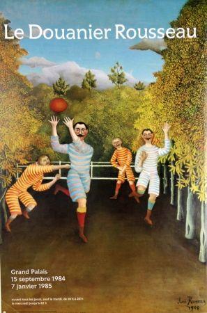 オフセット Rousseau - Joueurs de Football  Grand Palais