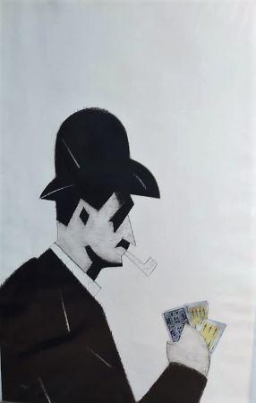 エッチング Valdés - Jugador de cartas