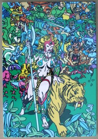 シルクスクリーン Erro - Jungle fever