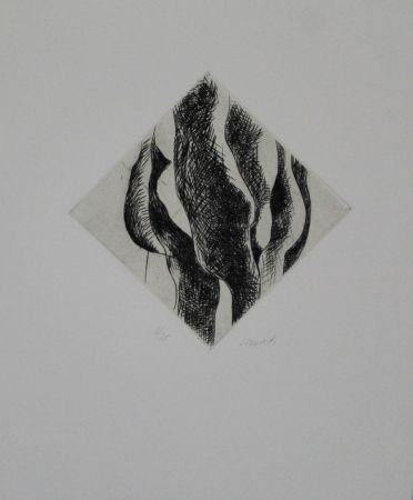 彫版 Cimiotti - Körper-Landschaft-Komposition / Body-Landscape-Composition