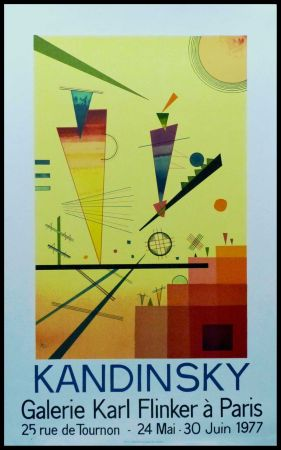 リトグラフ Kandinsky - KANDINSKY GALERIE Karl FLINKER, PARIS