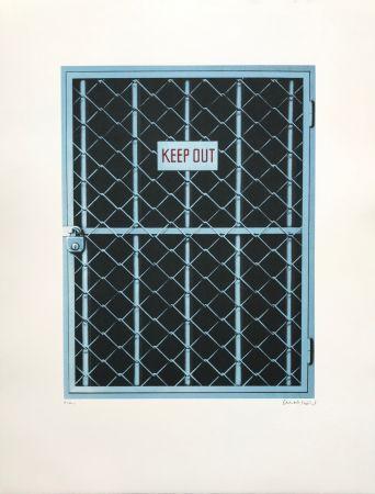 シルクスクリーン Klasen - Keep Out