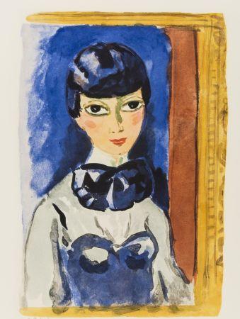 リトグラフ Van Dongen - Kees Van DONGEN (1877-1968). Claudine, circa 1950. Lithographie signée.