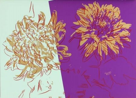 シルクスクリーン Warhol - Kiku