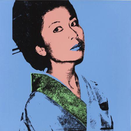 シルクスクリーン Warhol - KIMIKO FS II.237