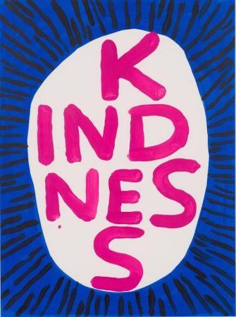 シルクスクリーン Shrigley - Kindness