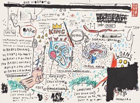 シルクスクリーン Basquiat - King Brand