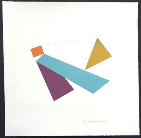 シルクスクリーン Hinman - Kite, from Kites Suite
