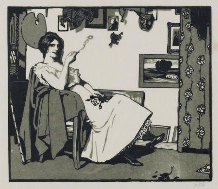 木版 Orlik - Kleine Holzschnitte 1896-99 (Small Woodcuts)