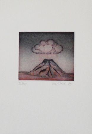 エッチングと アクチアント Franke - Kleiner Berg / Little Mountain
