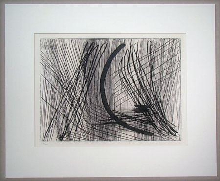 エッチングと アクチアント Hartung - Komposition G.23
