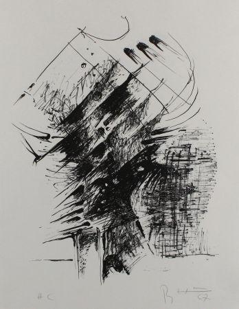 リトグラフ Heiliger - Komposition IV