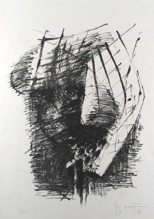 リトグラフ Heiliger - Komposition V