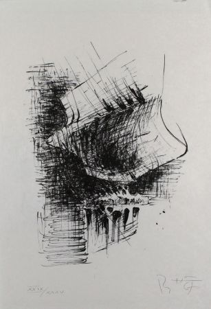 リトグラフ Heiliger - Komposition VI