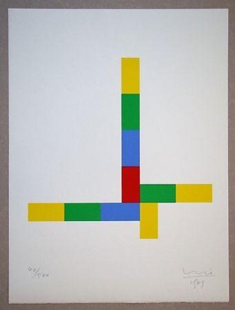 シルクスクリーン Bill - Konkrete Komposition, 1969