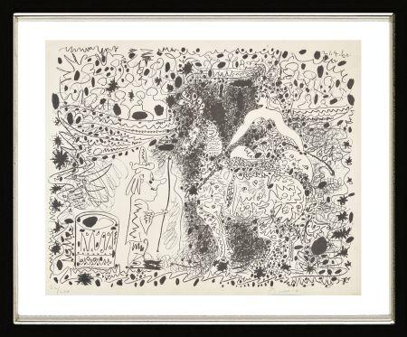 リトグラフ Picasso - L'Éyuyère, 1960