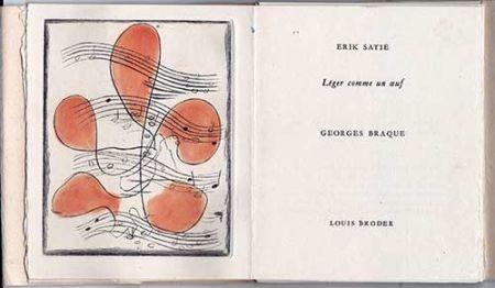 挿絵入り本 Braque - Léger comme un oeuf